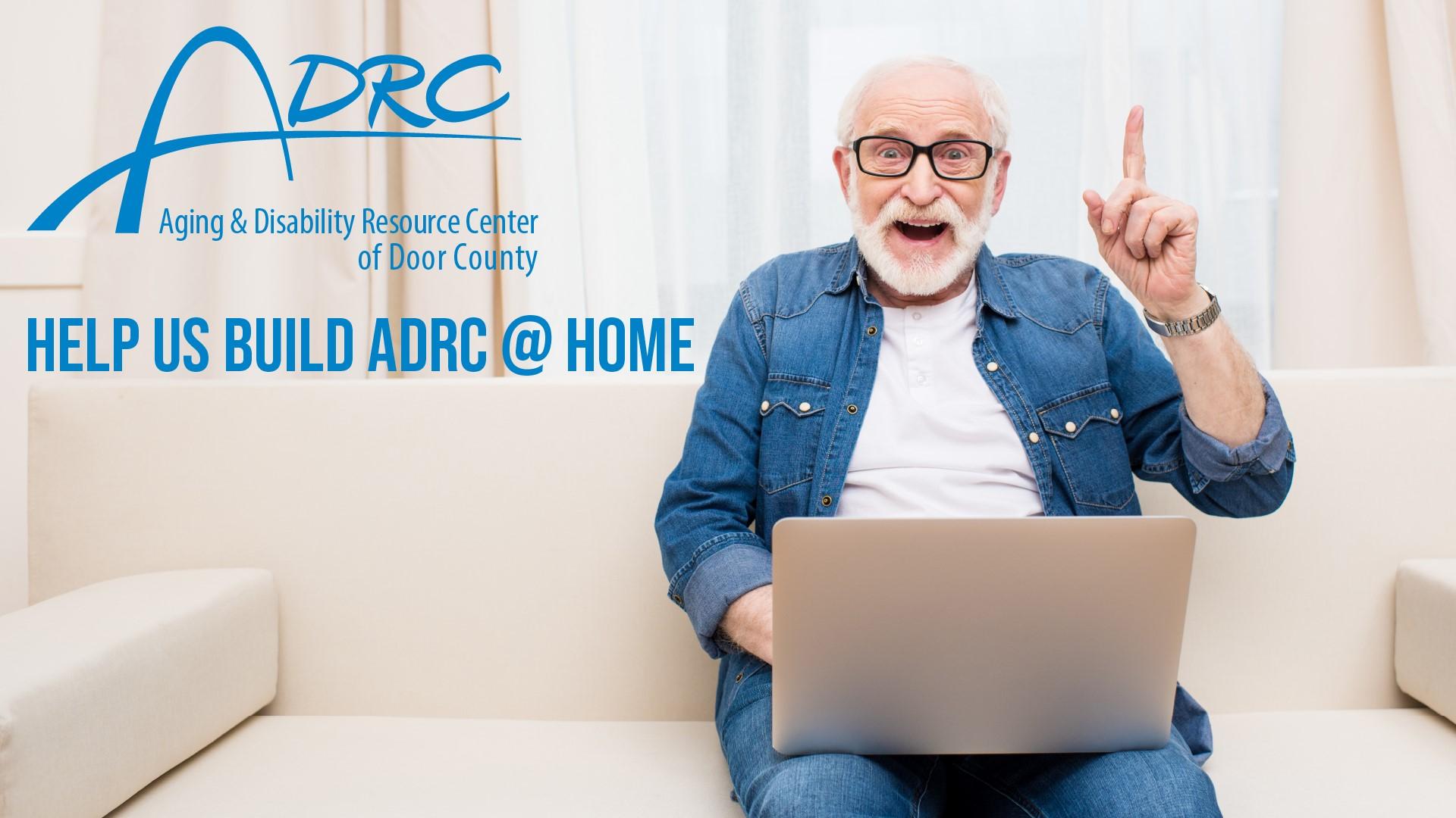 ADRC home Screen